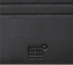 [MONT BLANC] Men's Leather Half Wallet 6cc 38036 image 3