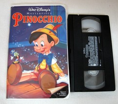 Walt Disney Masterpiece VHS Movie  Pinocchio # 239 Good Shape!   - $12.38