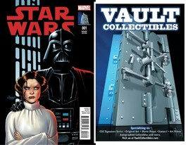 LOT OF 25! Star Wars #1 Return to Marvel Amanda Conner Cover Art Variant... - $98.00