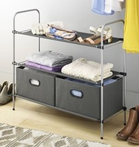 Closet Organizer Collection 3 Tier Shelves with... - $49.97