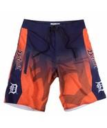 Detroit Tigers Mens Board Shorts - Size 30 Swimsuit Swim Trunks  - $36.95