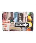 CITY TRAFFIC SIGNS FLOOR MAT - $19.00