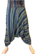 UNISEX Harem Trousers Striped Chiz - $33.09