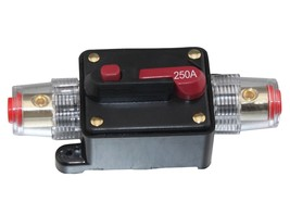 APS 250A Car Audio Inline Circuit Breaker Fuse for 12V Protection SKCB-0... - $11.37