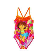 DORA the EXPLORER & BOOTS UPF-50 1-Piece Swim Bathing Suit NWT Size 2T o... - ₹660.64 INR