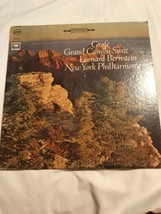 Grofe Grand Canyon Suite Leonard Bernstein New York Philharmonic Vinyl R... - £8.73 GBP