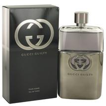 Gucci Guilty Pour Homme 5.0 Oz Eau De Toilette Cologne Spray image 5