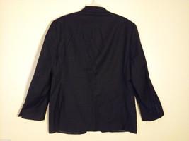 Calvin Klein Men's Size XL 2-Button Blazer Black Wool Sport Coat 3 Front Pockets image 2