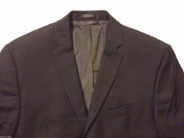 Calvin Klein Men's Size XL 2-Button Blazer Black Wool Sport Coat 3 Front Pockets image 3