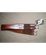 "Bobby's Chestnut Fancy Stitch Padded Girth Double Side Elastic 46"" - $106.00"