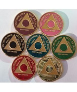 Custom Color Year 1 - 65 Silver Plated AA Medal... - $21.59