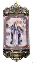Our Lady of Divine Grace Providence Wall Hanging Tapestry Icon Textile B... - $8.60