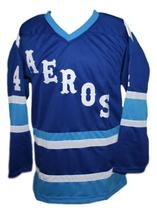 Mark howe retro hockey jersey blue   1 thumb200