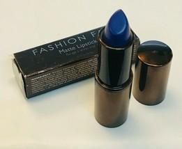 Fashion Fair Matte Lipstick Swoon 8424 Blue 0.15 oz New In Box - $19.79