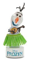 Disney FROZEN Hula Dancing Bobblehead Olaf Wobbler Elsa Anna Snowman Fig... - $9.89