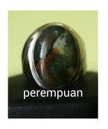 Precious Agate Stone Ring Fine Jewelry Men Acce... - $279.00