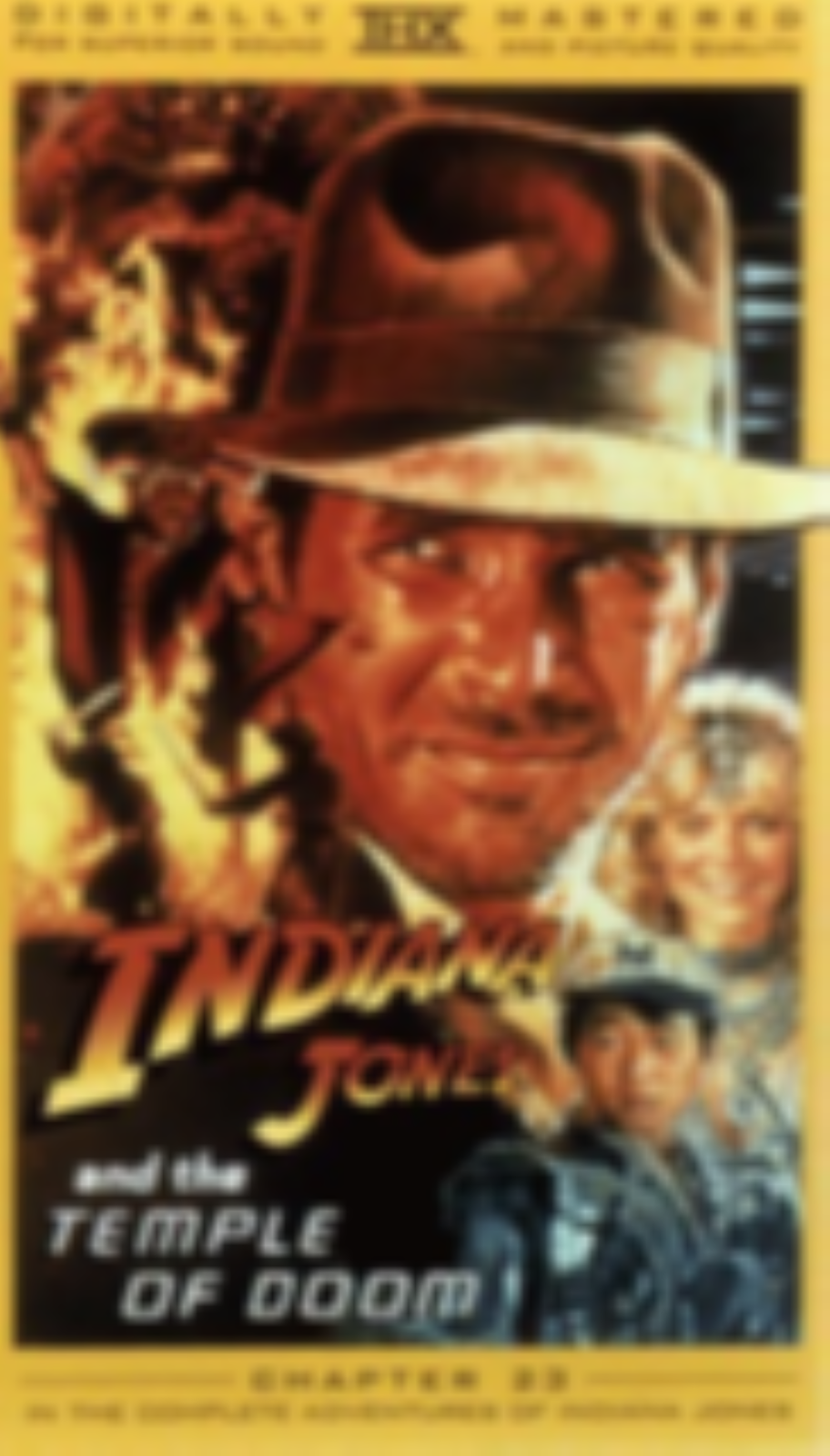 Indiana Jones and the Temple of Doom Vhs