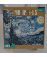 "Photomosaics Van Gogh ""Starry Night"" 1000 Piece Puzzle - $15.95"