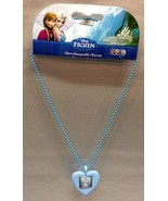 Disney Frozen Olaf ROXO Interchangeable Charm Necklace Keep OLAF Close T... - $3.49
