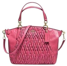 Coach Small Kelsey Satchel 37081 Twisted Gather... - $151.46
