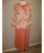 Chelsea Studio Orange Sweater Dress Size Petite... - $23.00