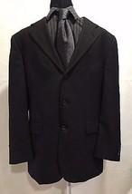 Tommy Hilfiger 3 Button 100% Wool Sports Coat Jacket Blazer Men's 40R W:33 - $39.99