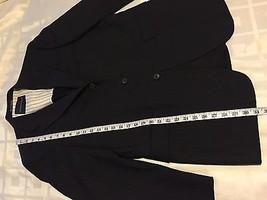 Tommy Hilfiger 3 Button 100% Wool Sports Coat Jacket Blazer Men's 40R W:33 image 5