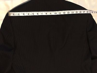 Tommy Hilfiger 3 Button 100% Wool Sports Coat Jacket Blazer Men's 40R W:33 image 7