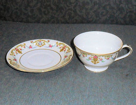"Sango ""Rococo"" Cup & Saucer USED - $4.95"