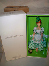 Holiday Hostess Shamrock Celebration Barbie Doll NRFB fan Club Exclusive... - $139.99