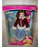 Disney Princess Belle 2001 Brass Key NRFB Winter Coat Blue Gown NRFB Por... - $79.99