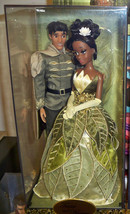 Tiana and Prince Naveen Doll Set - Disney Fairytale Designer Collection ... - $219.99