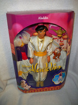 DISNEY's Aladdin DOll NRFB #2548 with Monkey  Mattel 1992 Great box!! - $39.99