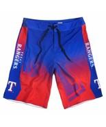 Texas Rangers Mens Board Shorts - Size 30 Swimsuit Swim Trunks  - $35.95