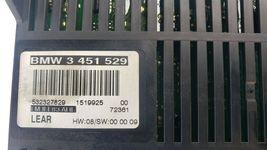 BMW E83 X3 2.5i 3.0i LCM LIGHT CONTROL MODULE LM 3451529 3 451 529 image 4
