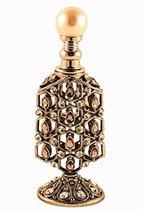 Vintage Look Rhodium Plated Empty Dcor Refillable High Quality Swarovski... - $54.99