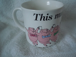 Recycled Paper Products This Mud's For You Pig Mug - $2.99