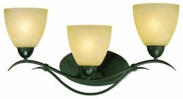 Thomas Lighting SL767363 Limestone Bath Light, Painted Bronze - $57.38