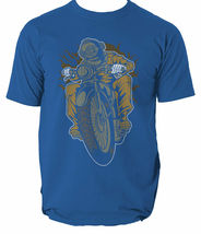 Diver Motorcycle mens t shirt Garage Full Speed Cafe Racer garage motor S-3XL  image 3