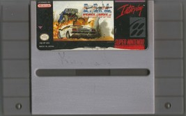 RADICAL PSYCHO MACHINE RACING (SNES Super Nintendo - 1992) Video Game Ca... - $9.99
