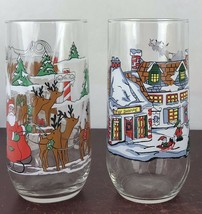 Lot Of 2 Coca-cola Drinking Glasses - $11.30
