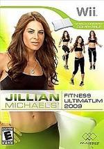 Jillian Michaels Fitness Ultimatum 2009 (Nintendo Wii, 2008) - $1.48