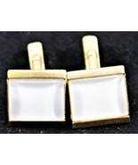 Vintage Swank Gold Tone Cufflinks - $8.90