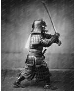 Samurai With Sword 1860 Vintage 8x10 Reprint Of... - $20.20