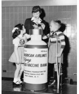 Polio Vaccine Bank March Of Dimes 8x10 Reprint ... - $20.20