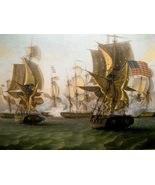 "War of 1812 Vintage ""Battle of Lake Erie"" 13 x ... - $19.95"