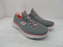 Skechers Women's Summits 12980 Casual Athletic Sneakers Grey/Pink Size 7.5M - $47.49