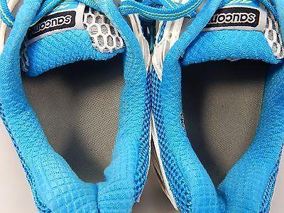 Saucony Ride 5 Women's Running Shoes Size US 9 M (B) EU 40.5 White Blue 10156-2