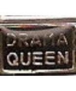 Drama Queen Italian Charm Link 9 MM - $9.95
