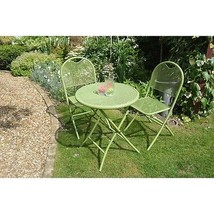 Classic Bistro Set 2 Seater Garden And Table Chairs Contemporary Patio F... - €362,95 EUR